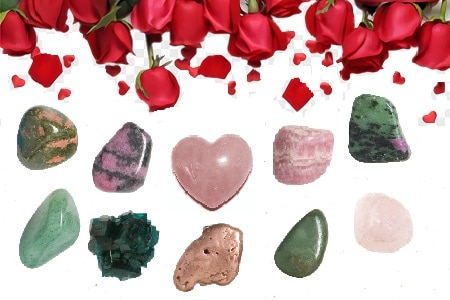 Crystals Associated with Love