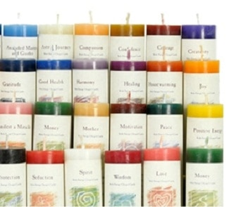 Botanical Healer Candles