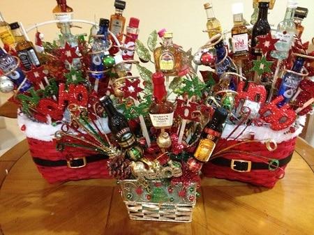 Making A Gift Basket