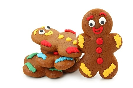 Traditional Gingerbread Man Cookies