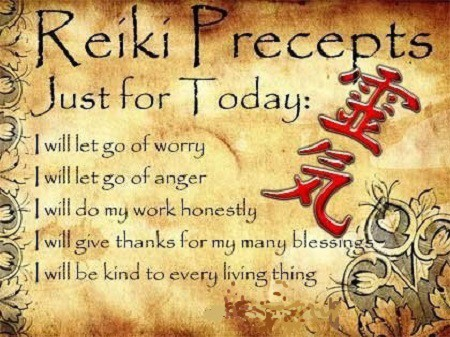 Apply The 5 Principles of Reiki