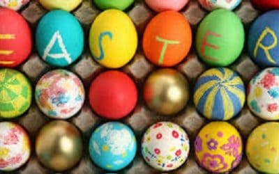 Coloring Easter Eggs With Nature's Gifts