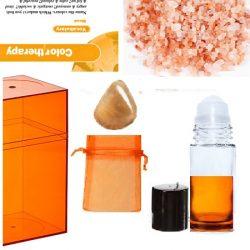 lucite-orange-box