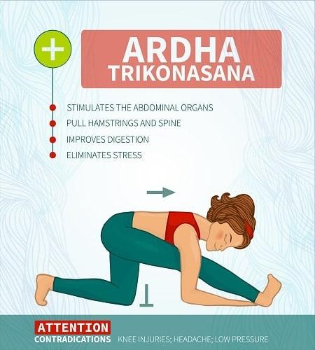 Ardha Trikonasana
