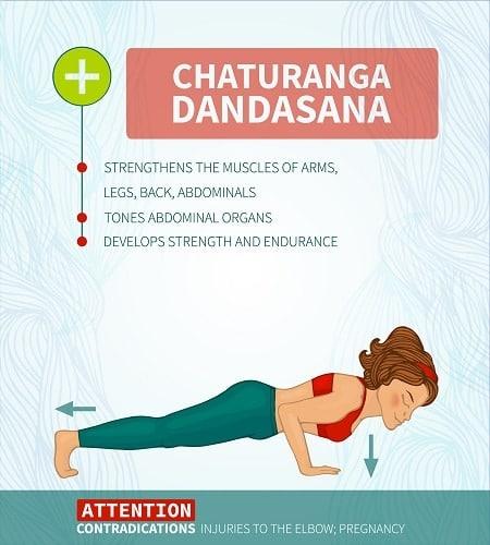 Chaturanga Dandasana 1