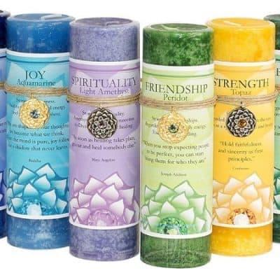 Herbal Candles | Peacefulmind com