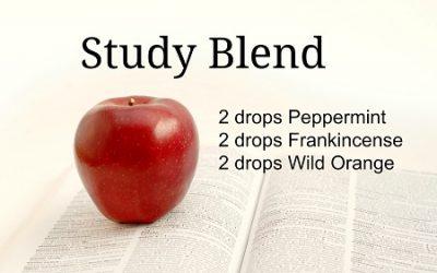 Essential Oils for Study