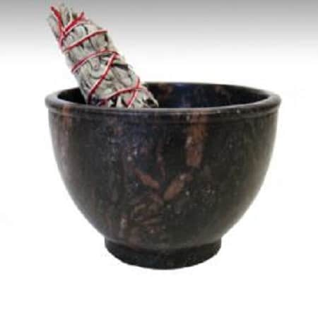 Soapstone Incense Bowl